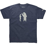 YETI Men's Bear With A Beer T-Shirt