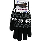 Yaktrax Women's Cozy Large Snowflake Gloves