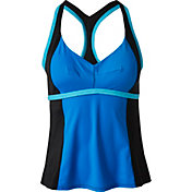Aqua Tech Women's Colorblock X-Back Tankini