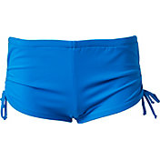 Aqua Tech Women's Solid Side Tie Shortie Swim Bottoms