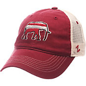 Zephyr Men's Alabama Crimson Tide Crimson/Cream Contour Trucker Snapback Hat