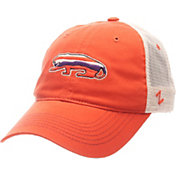 Zephyr Men's Clemson Tigers Orange/Cream Contour Trucker Snapback Hat
