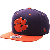 Zephyr Men's Clemson Tigers Regalia/Orange Z-Wool Z11 Snapback Hat