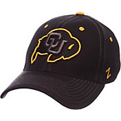 Zephyr Men's Colorado Buffaloes Black Element ZClassic Flexfit Hat