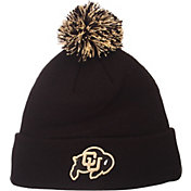 Zephyr Men's Colorado Buffaloes Black Pom Knit Beanie