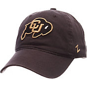 Zephyr Men's Colorado Buffaloes Grey Scholarship Adjustable Hat