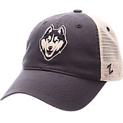 Zephyr Men's UConn Huskies Blue/Cream Mesh Trucker Snapback
