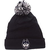 Zephyr Men's UConn Huskies Blue Pom Knit Beanie