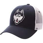 Zephyr Men's UConn Huskies Blue/White Big Rig Adjustable Hat