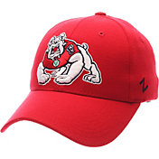 Zephyr Men's Fresno State Bulldogs Cardinal ZH ZClassic Flexfit Hat