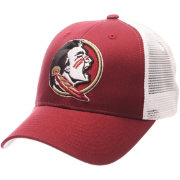 Zephyr Men's Florida State Seminoles Garnet/White Big Rig Adjustable Hat