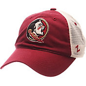 Zephyr Men's Florida State Seminoles Garnet/White University Adjustable Hat