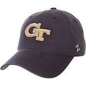 Zephyr Men's Georgia Tech Yellow Jackets Navy Scholarship Adjustable Hat