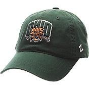 Zephyr Men's Ohio Bobcats Green Scholarship Adjustable Hat