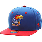 Zephyr Youth Kansas Jayhawks Blue/Crimson Z11 Adjustable Hat