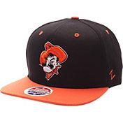Zephyr Men's Oklahoma State Cowboys Black/Orange Z-Wool Z11 Snapback Hat