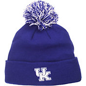 Zephyr Men's Kentucky Wildcats Blue Pom Knit Beanie