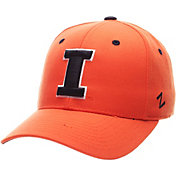 Zephyr Men's Illinois Fighting Illini Orange DH Fitted Hat