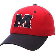 Zephyr Men's Ole Miss Rebels Red DH Fitted Hat