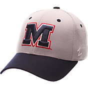 Zephyr Men's Ole Miss Rebels Blue DH Fitted Hat