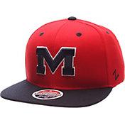 Zephyr Men's Ole Miss Rebels Red/Blue Z-Wool Z11 Snapback Hat