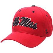 Zephyr Men's Ole Miss Rebels Red Competitor Adjustable Hat
