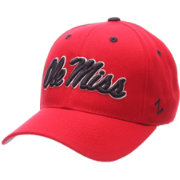 Zephyr Men's Ole Miss Rebels Red Competitor Adjustable Hat