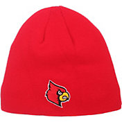 Zephyr Men's Louisville Cardinals Cardinal Red Edge Beanie