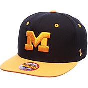 Zephyr Youth Michigan Wolverines Blue/Maize Z11 Adjustable Hat