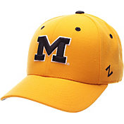 Zephyr Men's Michigan Wolverines Maize DH Fitted Hat