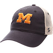 Zephyr Men's Michigan Wolverines Blue/White University Adjustable Hat