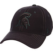 Zephyr Men's Michigan State Spartans Black Element ZClassic Flexfit Hat