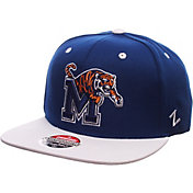 Zephyr Men's Memphis Tigers Blue/White Z-Wool Z11 Snapback Hat