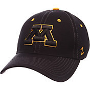 Zephyr Men's Minnesota Golden Gophers Black Element ZClassic Flexfit Hat