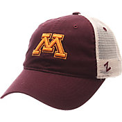 Zephyr Men's Minnesota Golden Gophers Maroon/White University Adjustable Hat