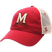 Zephyr Men's Maryland Terrapins Red/White University Adjustable Hat