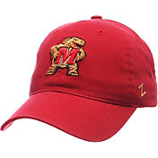 Zephyr Men's Maryland Terrapins Red Scholarship Adjustable Hat