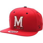 Zephyr Men's Maryland Terrapins Red Z-Wool Z11 Snapback Hat
