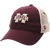 Zephyr Men's Mississippi State Bulldogs Maroon/White University Adjustable Hat
