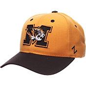 Zephyr Men's Missouri Tigers Competitor Black Adjustable Hat