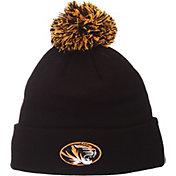 Zephyr Men's Missouri Tigers Black Pom Knit Beanie