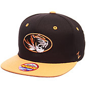 Zephyr Youth Missouri Tigers Black/Gold Z11 Adjustable Hat