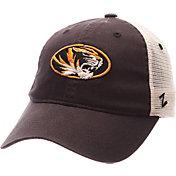 Zephyr Men's Missouri Tigers Grey/White University Adjustable Hat