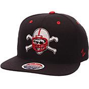 Zephyr Men's Nebraska Cornhuskers Black Z-Wool Z11 Football Snapback Hat
