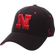 Zephyr Men's Nebraska Cornhuskers Black ZH ZClassic Flexfit Hat