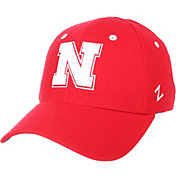 Zephyr Men's Nebraska Cornhuskers Scarlet ZH ZClassic Flexfit Hat