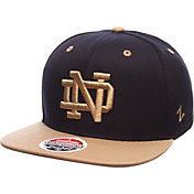 Zephyr Men's Notre Dame Fighting Irish Navy/Gold Z-Wool Z11 Snapback Hat