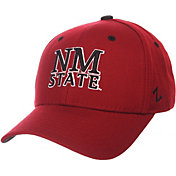 Zephyr Men's New Mexico State Aggies Crimson DH Fitted Hat