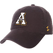 Zephyr Men's Appalachian State Mountaineers Grey Scholarship Adjustable Hat