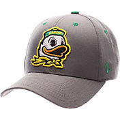 Zephyr Men's Oregon Ducks Grey Competitor Adjustable Hat